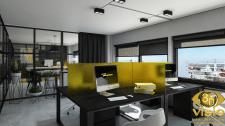 3D визуализация офиса. 4